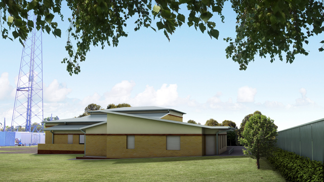 Port Hacking substation artists impression