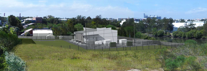 Tighes Hill zone substation