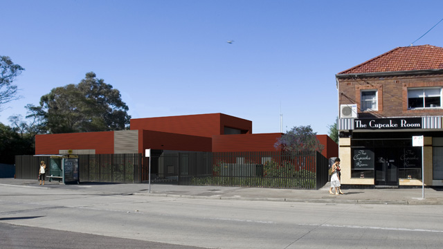 Leichhardt substation artists impression
