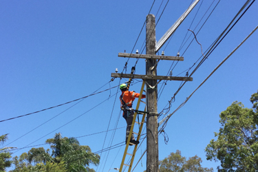 Restoring power after a storm