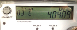 Reading your meter - Kwh